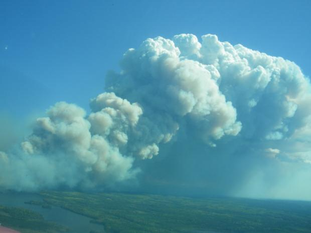 Pagami Creek fire 9-11-2011