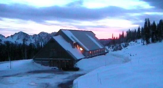 Paradise Jackson Visitor Center at 455 pm 1-1-2012