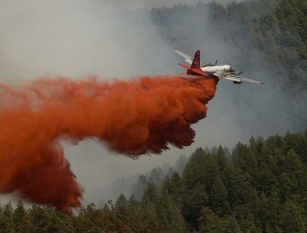 May 20 - Airtanker drops retardant