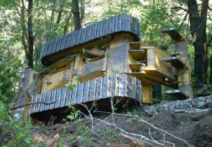 California: dozer rolls over in Mendocino County