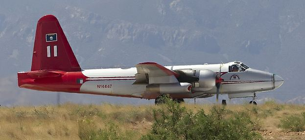 Tanker 11 at Libby Army Airfield, AZ, 6-15-2011 photo by Ned Harris