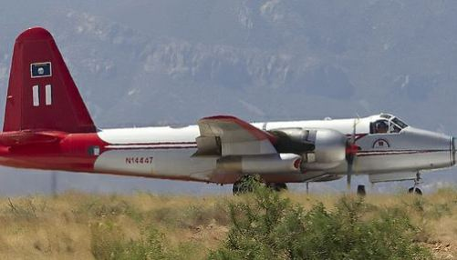 Two air tanker incidents, one crash and one wheels-up landing