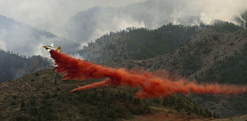 Minden's Tanker 48 drops High Park fire June 19, 2012
