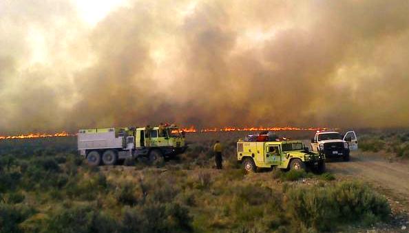 Miller Homestead fire