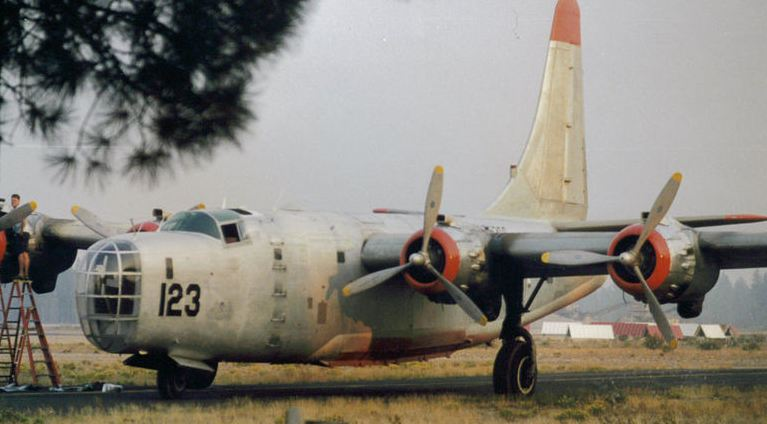 Tanker 123 at Chester, California