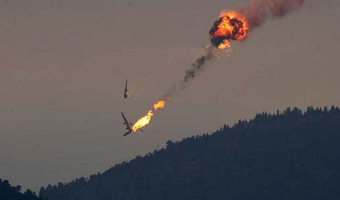 Tanker 123 crash near Estes Park, CO, July 18, 2002