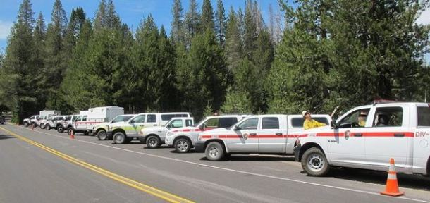 Firefighters making progress on Lassen NP fire