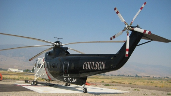 Sikorsky S-61N Coulson-Billings Flying Service