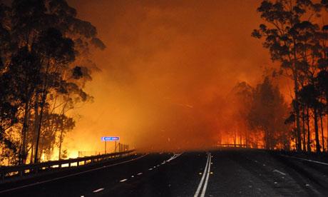 Fire names in Australia