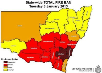"Authorities in Australia recommend evacuation due to ""catastrophic"" fire danger"
