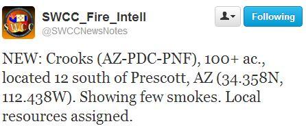 Crooks fire