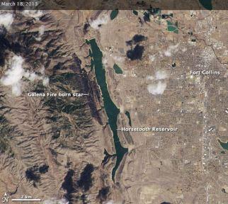 Landsat Galena Fire