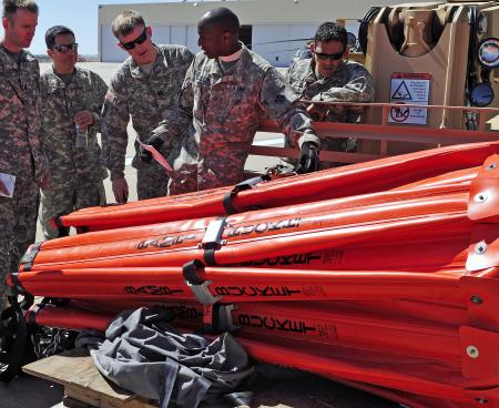 Military Bambi Bucket training