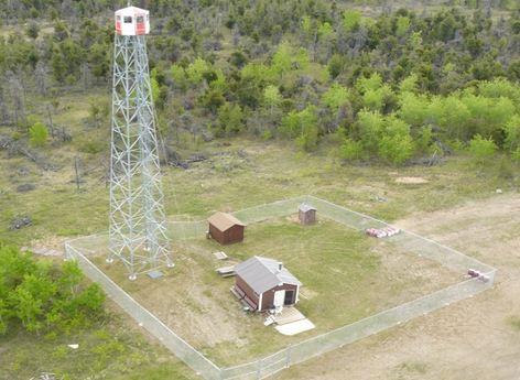Saskatchewan lookout tower