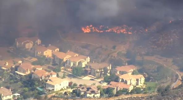 Springs Fire, Ventura County