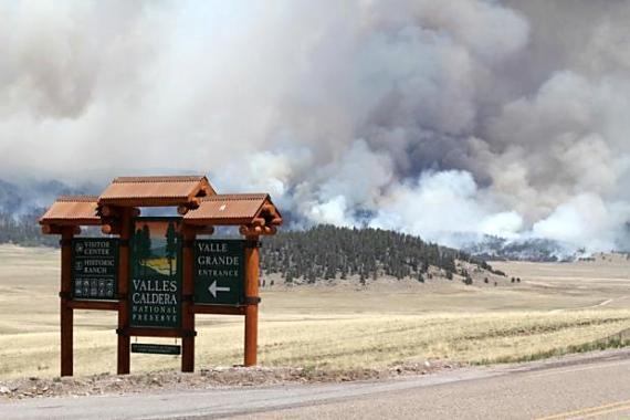 Thompson Ridge Fire