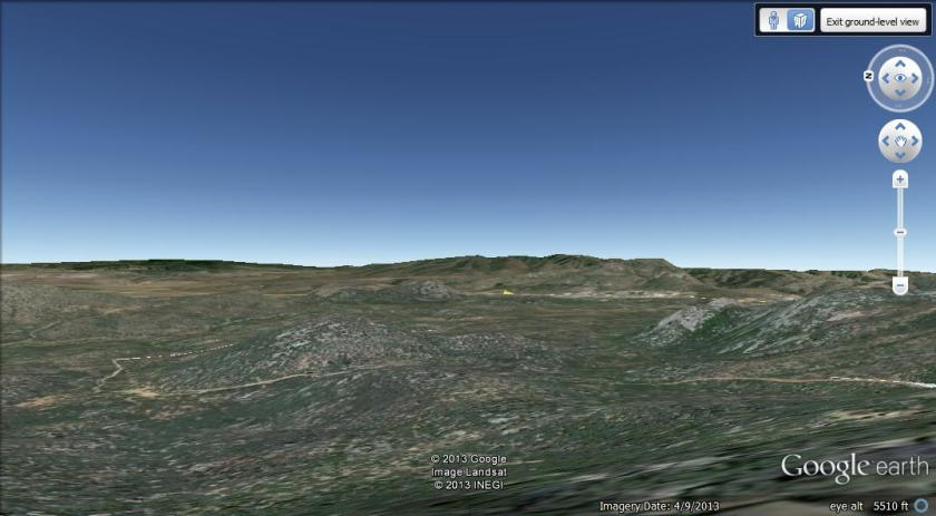 Screen capture from Google Earth.