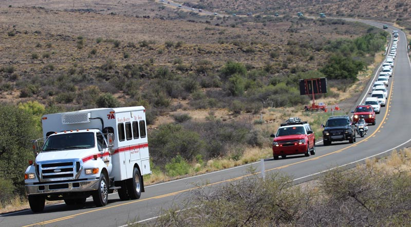 Honor Escort, Granite Mountain Hotshots