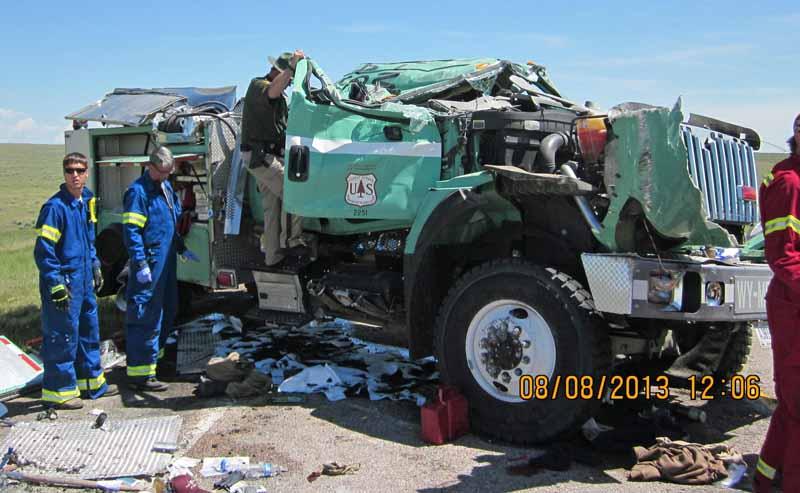 Engine 492 crash Wyoming