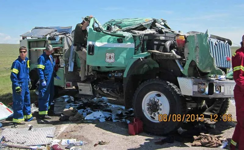Engine 492 crash Wyoming