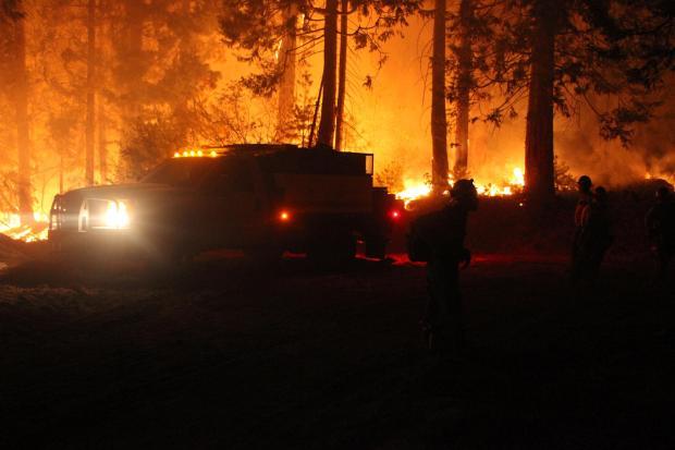 Monterey Hotshots on the Rim Fire