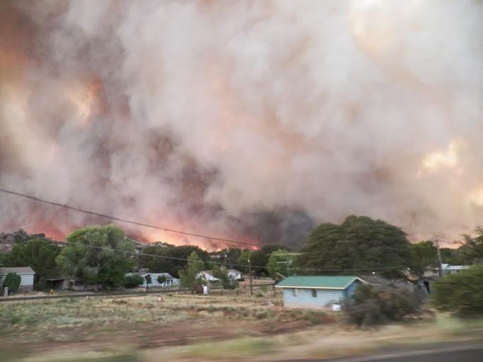 Yarnell Hill Fire, June 30, 2013