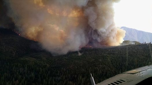El Portal Fire, July26, 2014.