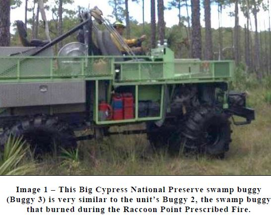 Report released on swamp buggy fire in Florida - Wildfire Today