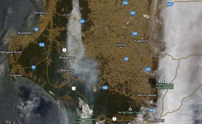 Western Australia Bushfire Burns 143 000 Acres Wildfire