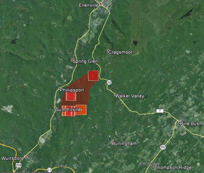 Summitville Fire map 331 pm May 4, 2015