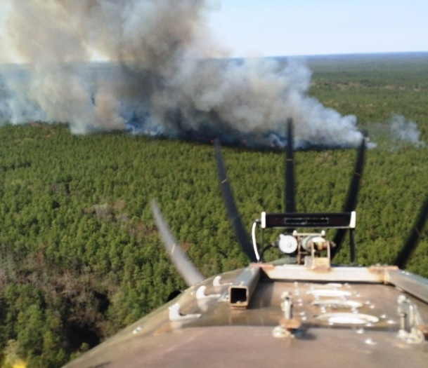 Hammonton, New Jersey wildfire