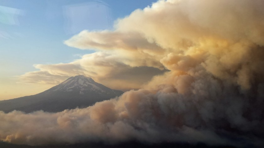 Cougar Creek Fire