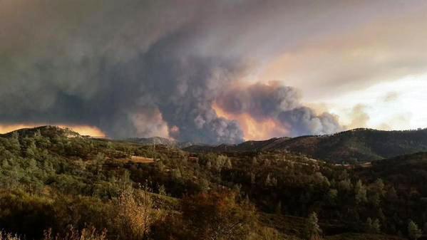 Rocky Fire August 1, 2015