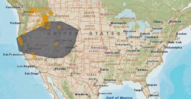 Smoke map 9-13-2105