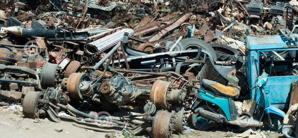pile of machines