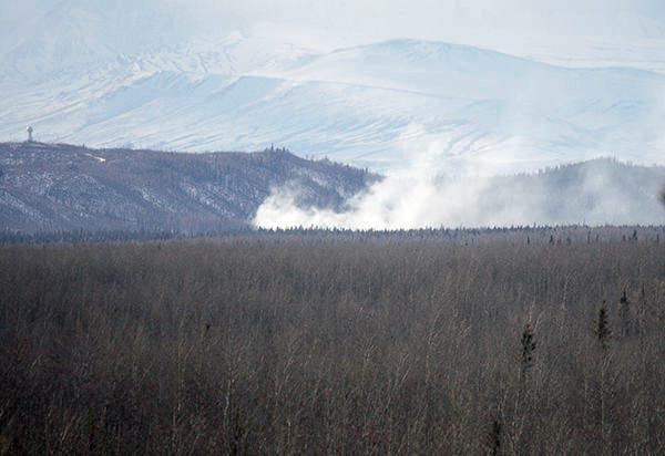 Alaska fire Delta Junction
