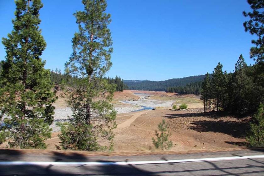 Trinity Lake drought