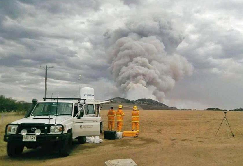 Smoke plume research