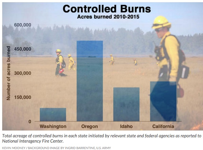 Washington prescribed fire acres