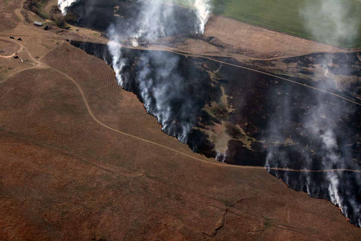 Anderson Creek Fire 90 percent contained