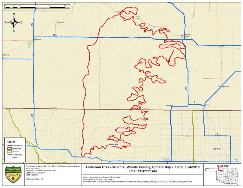 Map Anderson Ck Fire 3-24-2016