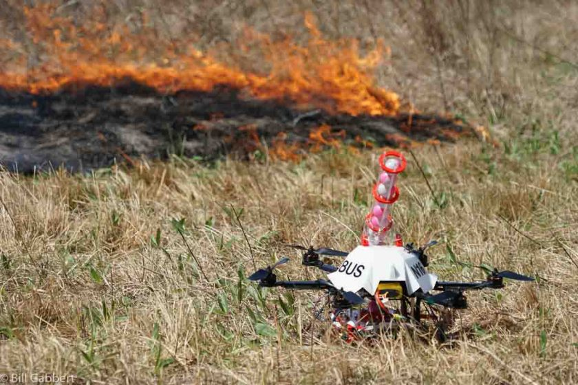 Homestead Rx fire drone