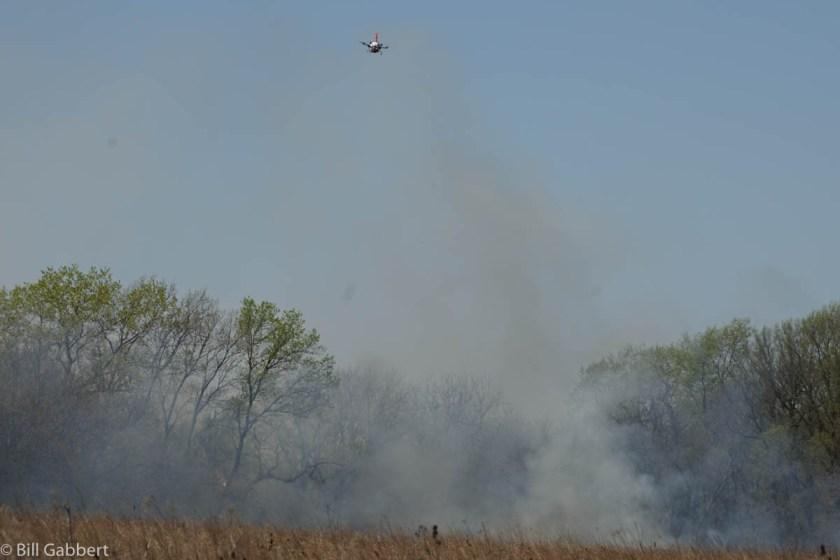 Homestead Rx fire drone