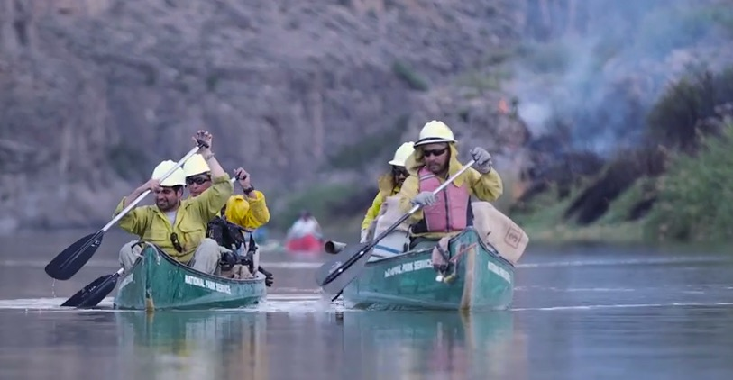Mexican citizens fighting America's fires