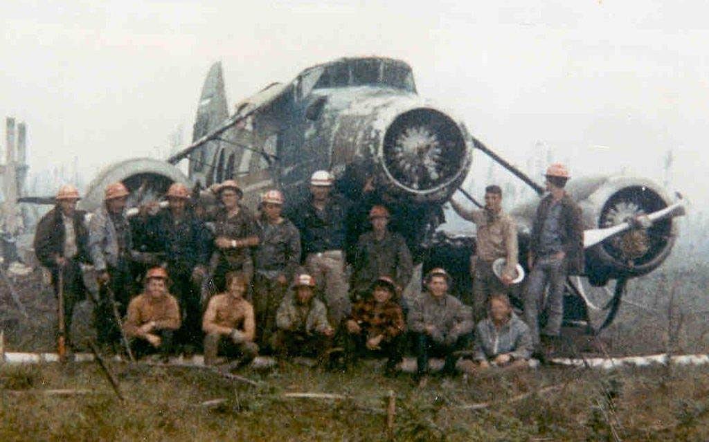 wildland firefighters Stinson A Trimotor 1968