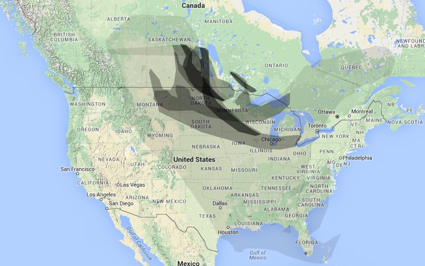 Wildfire Smoke From Canada Affects Much Of The United States May 8