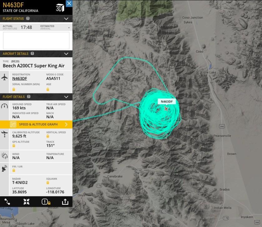 CAL FIRE Air Attack N463DF
