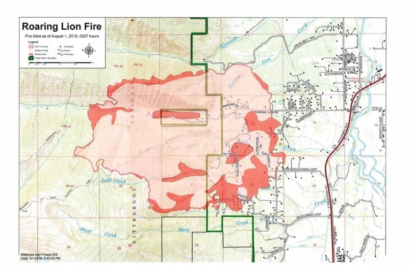 map Roaring Lion Fire