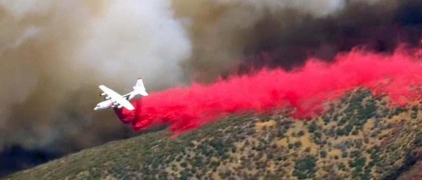 blue cut fire c-130