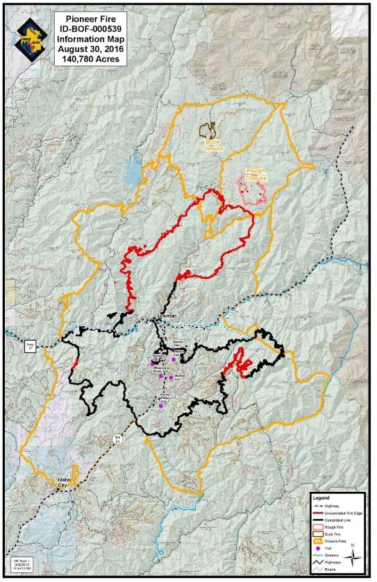 Map Pioneer Fire